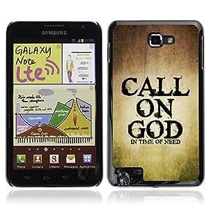YOYO Slim PC / Aluminium Case Cover Armor Shell Portection //CALL ON GOD //Samsung Note