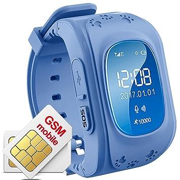 TKSTAR Q50 Reloj inteligente para niños, reloj de pulsera para niños con antipérdida, rastreador