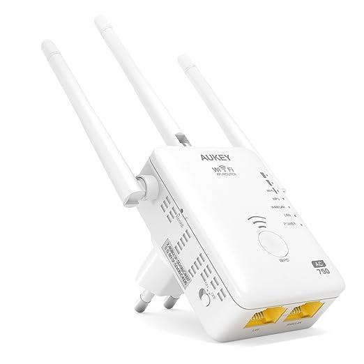 33 opinioni per AUKEY Ripetitore Wifi Dual Band 750Mbps 802.11ac 3 Antenne Esterne Range