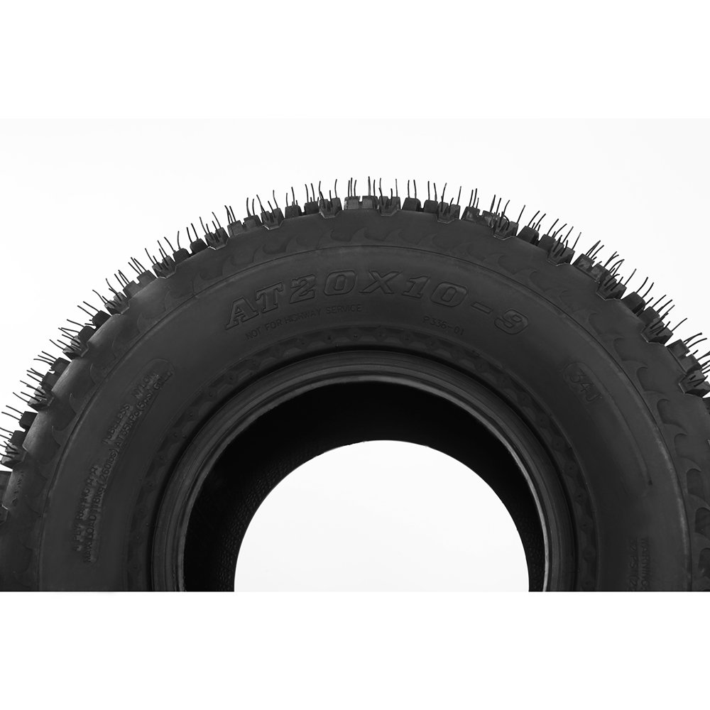 Set of 2 ATV Tire P336 20x10-9 Rear, 4 Ply by Bestroad (Image #5)