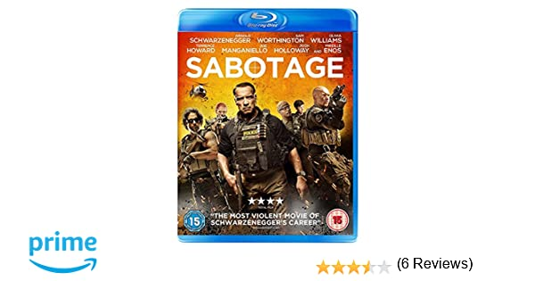 Sabotage Edizione: Regno Unito Reino Unido Blu-ray: Amazon.es: Cine y Series TV