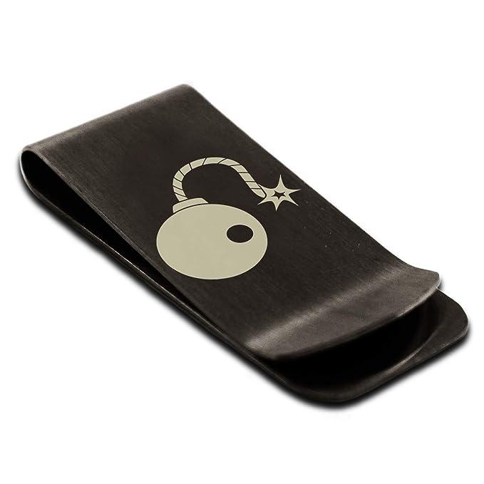 Amazon.com: Clip de acero inoxidable para tarjeta de crédito ...
