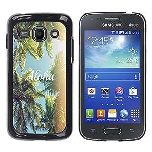Dragon Case - FOR Samsung Galaxy Ace 3 - bold attempt is half success - Caja protectora de pl??stico duro de la cubierta Dise?¡Ào Slim Fit
