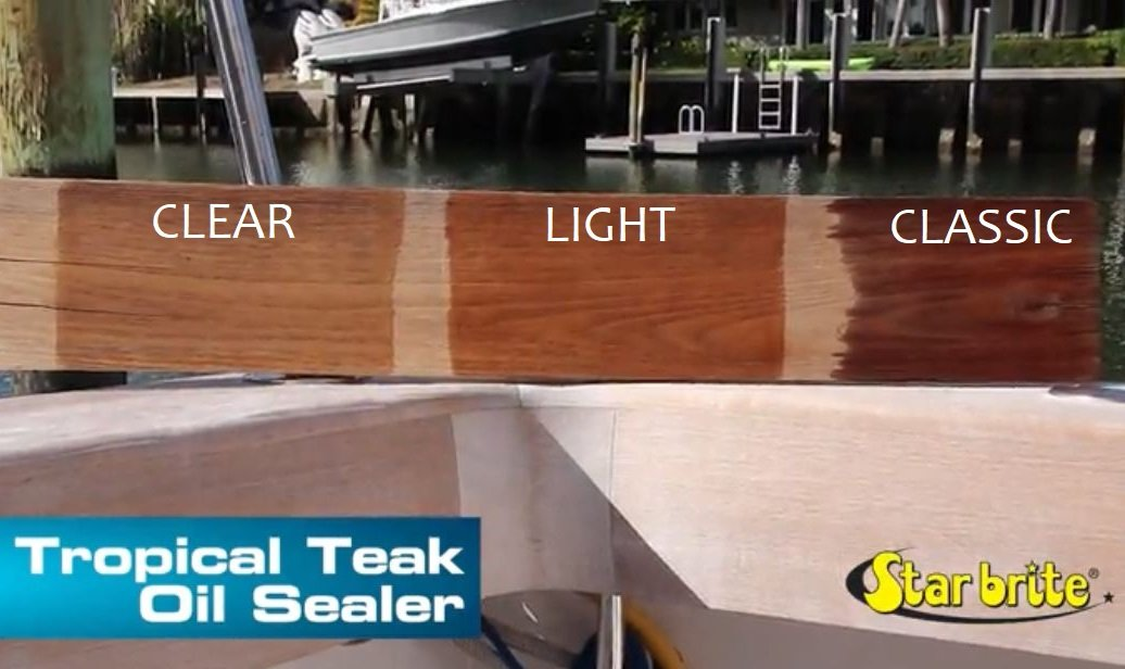 Star brite Teak Sealer - No Drip, Splatter-Free Formula - One Coat Coverage for All Fine Woods by Star Brite (Image #4)