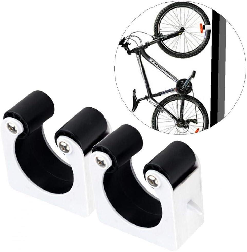 Montaje En Pared Port/átil F/ácil de Instalar Soporte Bici para Ahorrar Espacio Bicicleta de Monta/ña Aparcamiento para Bicicletas Hebilla Cubierta Soportes Gancho De Montaje En Pared Para Bicicleta