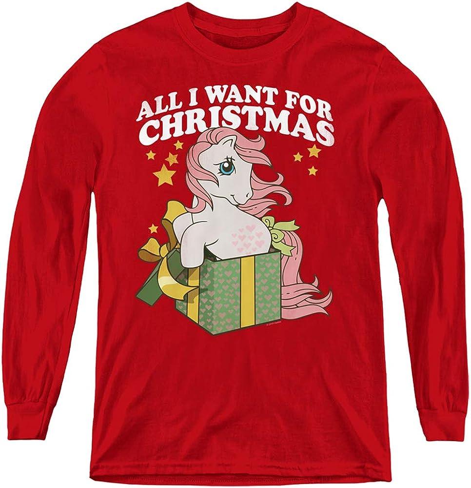 My Little Pony Retro All I Want Youth Long Sleeve T Shirt