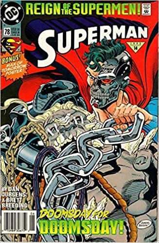 Superman #78 Reign of the Supermen (Doomsday for DOOMSDAY