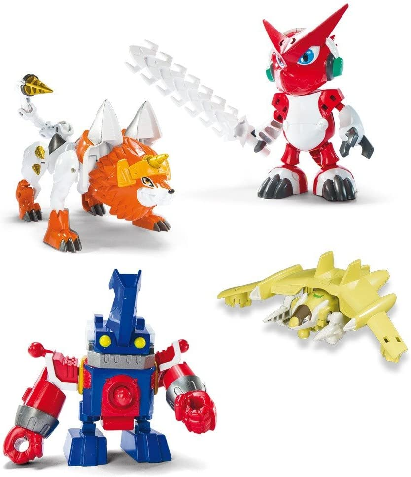 BANDAI Digimon - Pack 4 Figuras Digifusion: Amazon.es: Juguetes y juegos