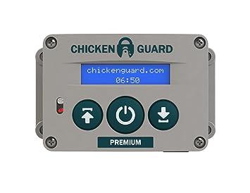 ChickenGuard Premium Portier Automatique Pour Poulailler Amazonfr - Porte automatique poulailler allemagne
