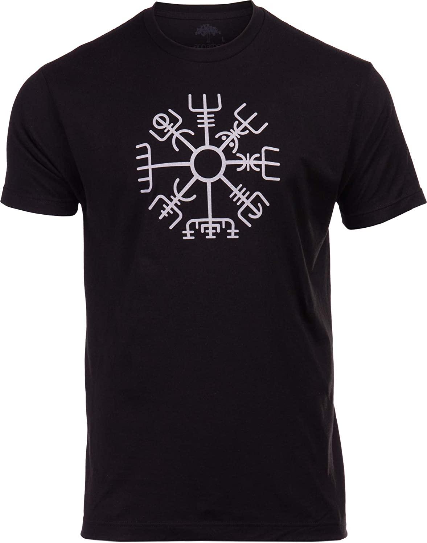 Vegvisir | Nordic Viking Rune Compass Norse Germanic Icelandic Pagan Magic Symbol T-Shirt