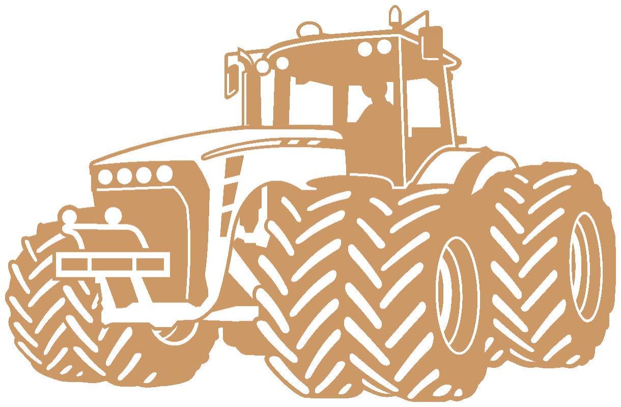 Samunshi® Wandtattoo Trecker Traktor Kinderzimmer Spielzimmer in in in 9 Größen und 19 Farben (110x70cm schwarz) B06VWV58PS Wandtattoos & Wandbilder 6c5439