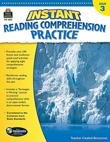 3 Grade Reading Worksheets - Instant Reading Comprehension Practice Grade 3