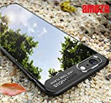 Amozo - ULTRA THIN SHOCK PROOF CLEAR TRANSPARENT Back Cover Case For Apple iPhone 8 Color - Black