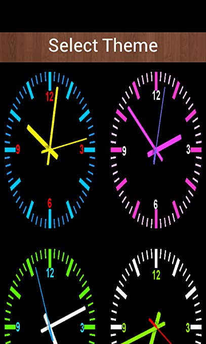 Amazoncom Analog Clock Screen Lock Appstore For Android