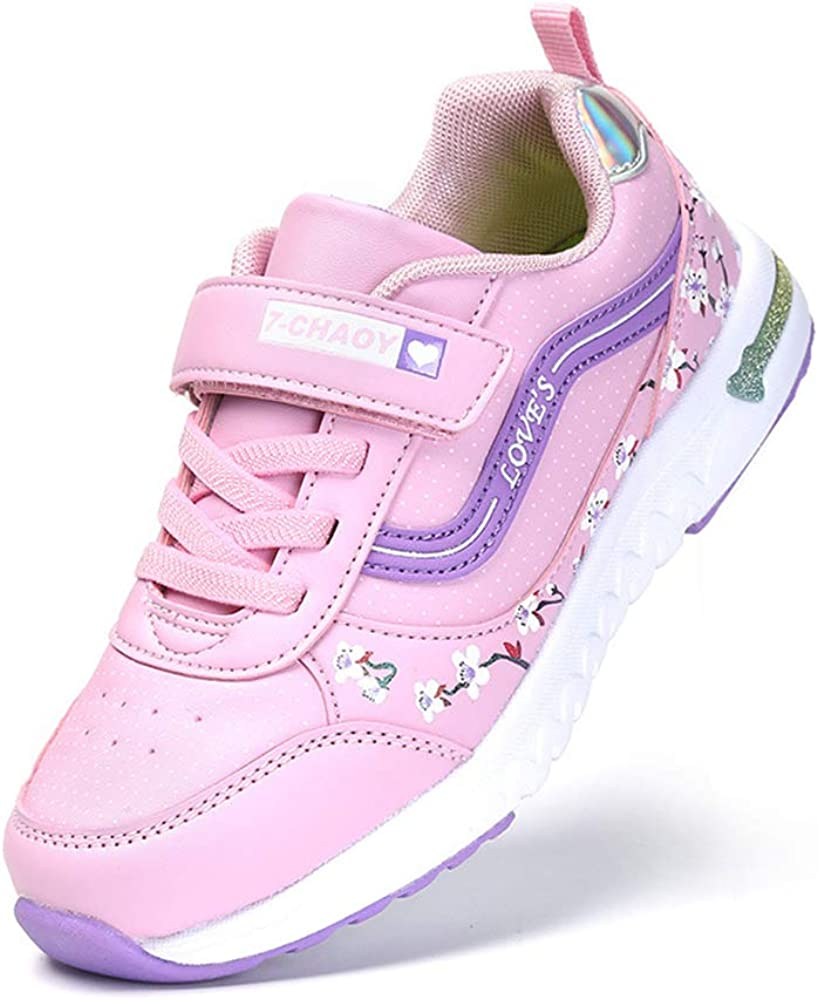 SPKIDS Childrens Leisure Shoes Breathable Sports Shoes for Little Girl