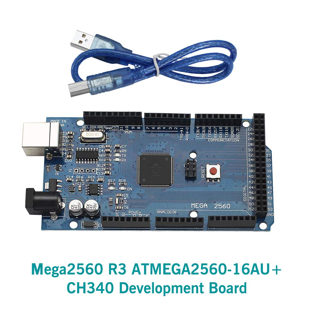 Amazon.com: Huayuxin ATmega2560-16AU CH340 Mega2560 R3 ...