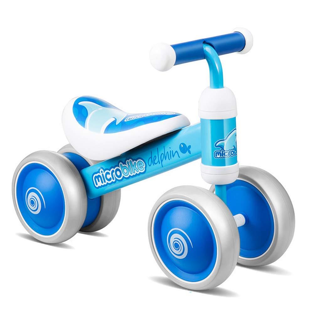 en promociones de estadios azul FYABB Bebé Bebé Bebé Equilibrio Bicicletas Bicicletas, niños Infantiles Cuatro Ruedas Walker sin Pedal de pie para 6-12 Meses-3 años de Edad al Aire Libre Interior  punto de venta barato