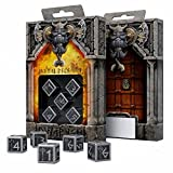Metal-Black Dwarven Dice Set 5D6