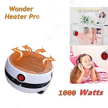 ... aire caliente Calentador Electrico Instantáneo Calefactor Cerámico de Aire Caliente de Ventilador Calefactor Cerámico de Bajo Consumo: Amazon.es: Hogar