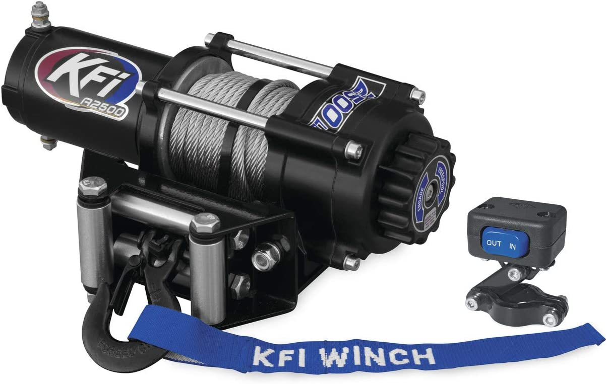 Fits: 2009-2013 Honda MUV700 Big Red Wire Cable New KFI 2500 lbs /& Model Specific Winch Mount Winch