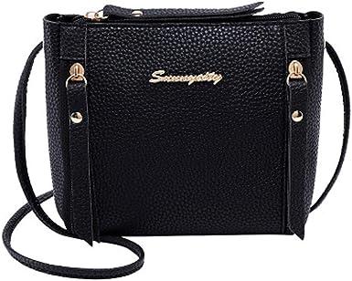 Bioplj Shoulders Bag For Women Clearance Sale Crossbody Bag Fashion Tassel Messenger Bag Wild Small Square Bag