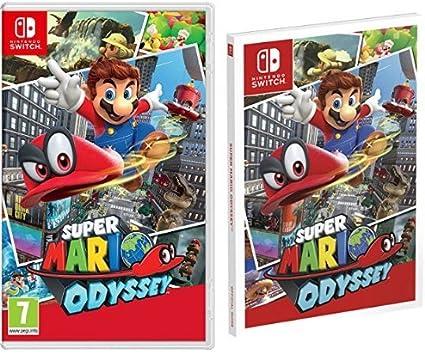 Super Mario Odyssey + Guía Super Mario Odyssey: Amazon.es: Videojuegos