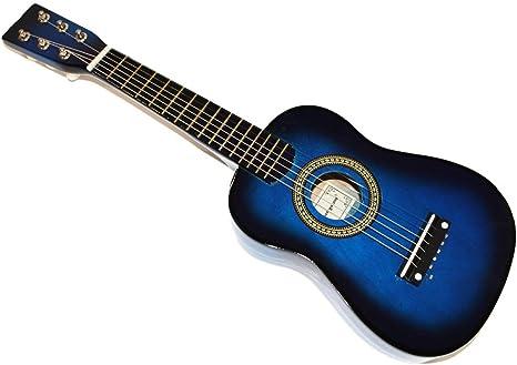 Cher rystone 0754235506591 1/16 6 cuerdas guitarra madera juguete ...