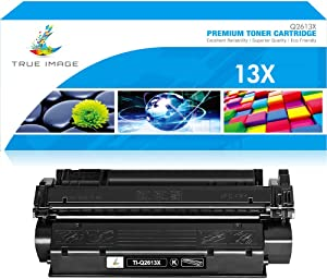 True Image Compatible Toner Cartridge Replacement for HP Q2613A C7115X C7115A Q2613X Laserjet 1300 1300N 3380 1150 1200 1200N 1220 3300 3330 13A 13X 15A 15X Printer Ink (Black, 1-Pack)