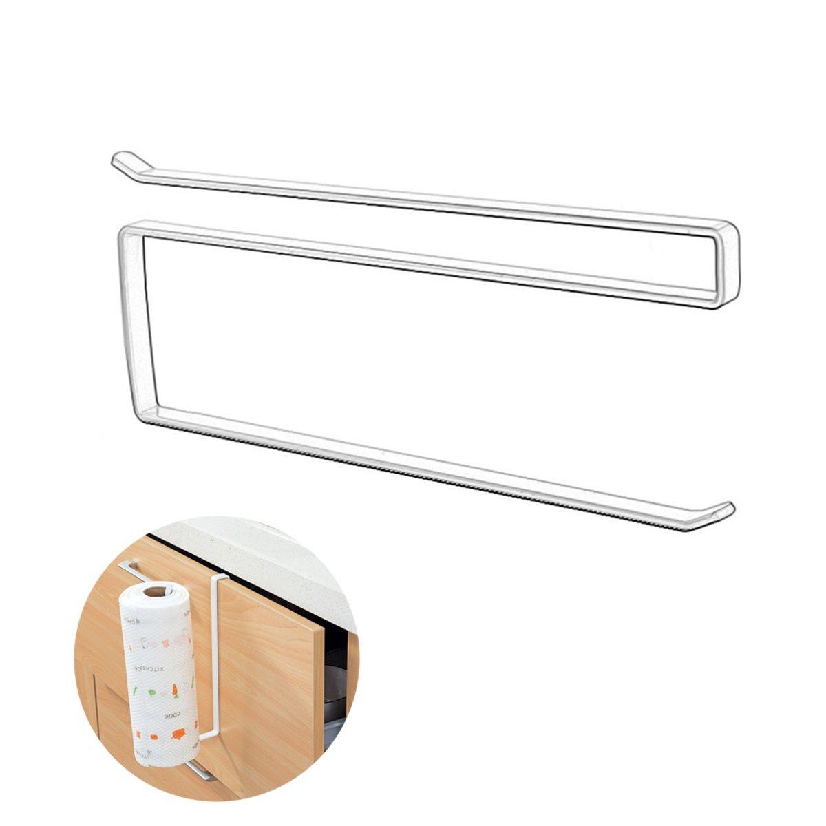 MARCHONE Kitchen Versatile Paper Towel Hanger Holder Under Cabinet by MARCHONE (Image #1)