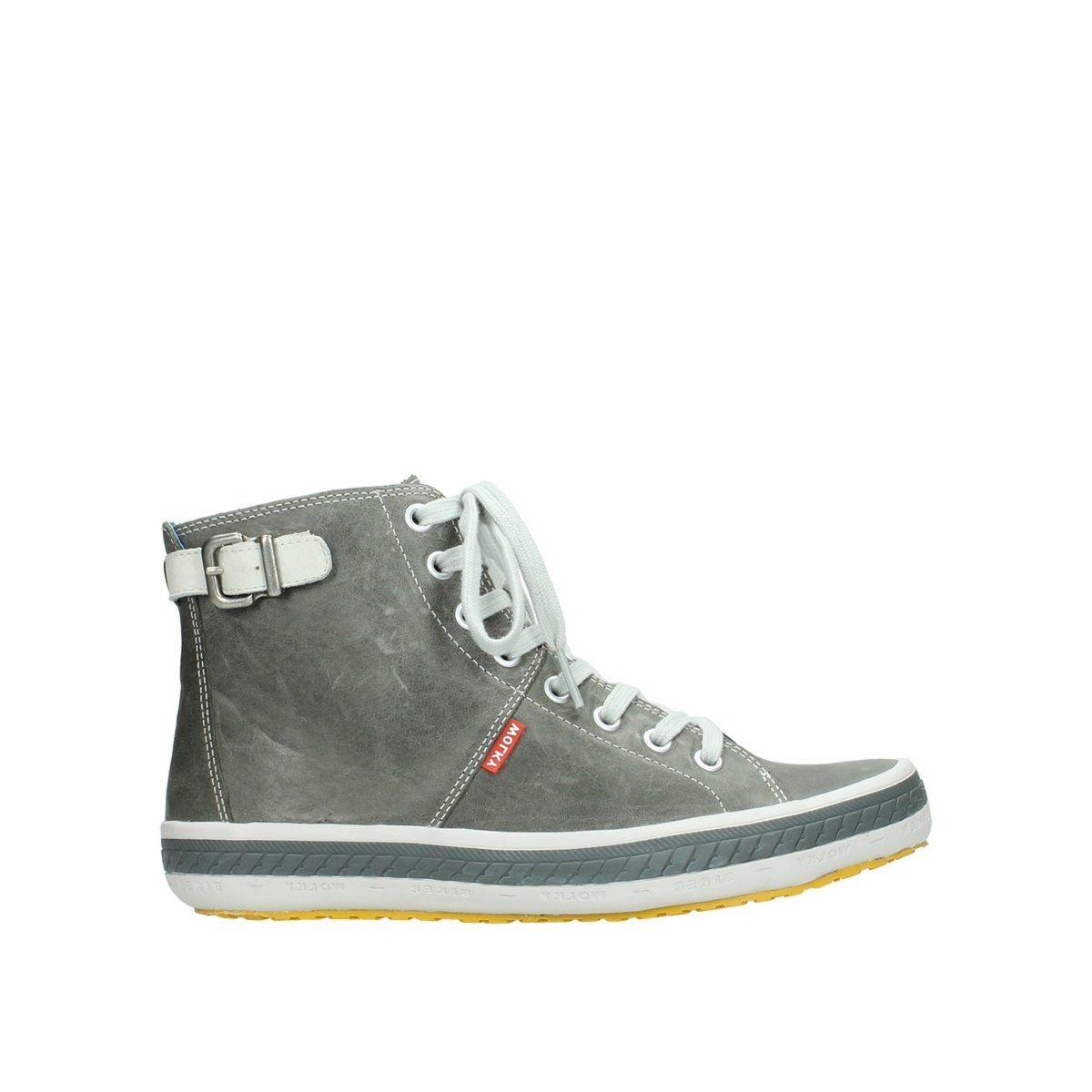 Wolky 1176411 - Sandalias de vestir para mujer 30200 Grey Leather