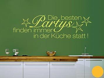 Klebefieber Wandtattoo Küchen-Party B x H: 100cm x 29cm ...