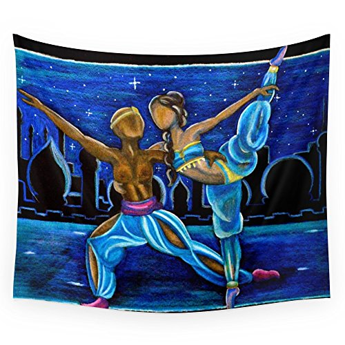 Society6 Arabian Dance Wall Tapestry Large: 88'' x 104'' by Society6
