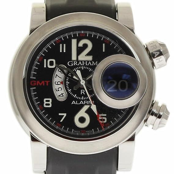 Graham Swordfish swiss-automatic Mens Reloj 2swasgmt. b01 a.k06b (Certificado)