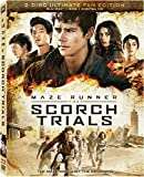 Maze Runner: The Scorch Trials Blu-Ray + DVD + DHD
