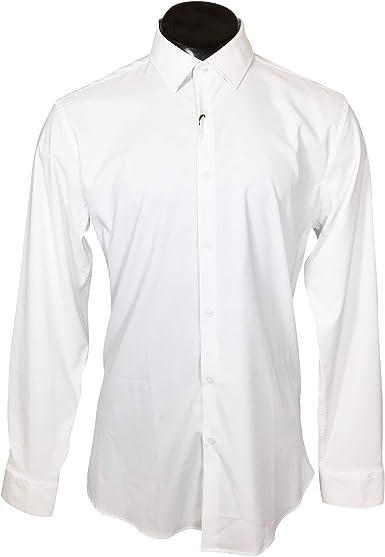 Zara - Camisa Casual - para Hombre Blanco S: Amazon.es: Ropa ...