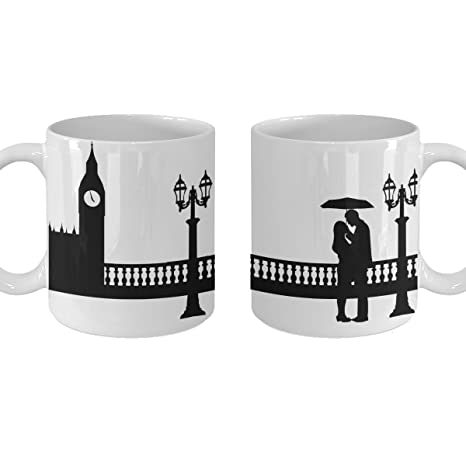 Cute Christmas Ideas For Couples.Amazon Com Couple Gift Mug Couples Matching Coffee Tea Cup