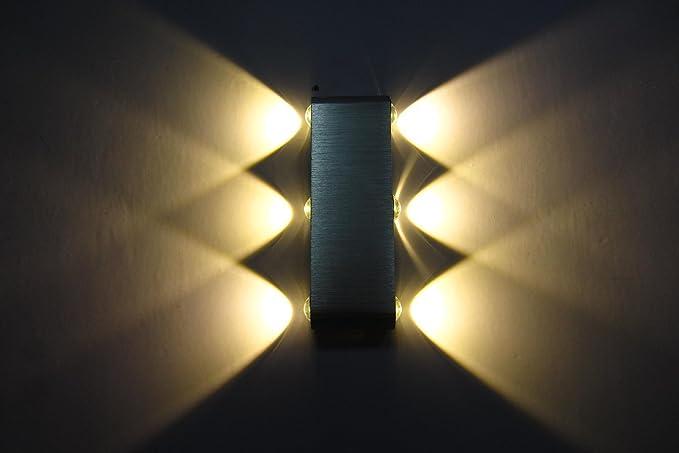 Lampade Da Esterno Moderno Da Parete : Wasinon moderno led lampada da parete interno lampada da esterno