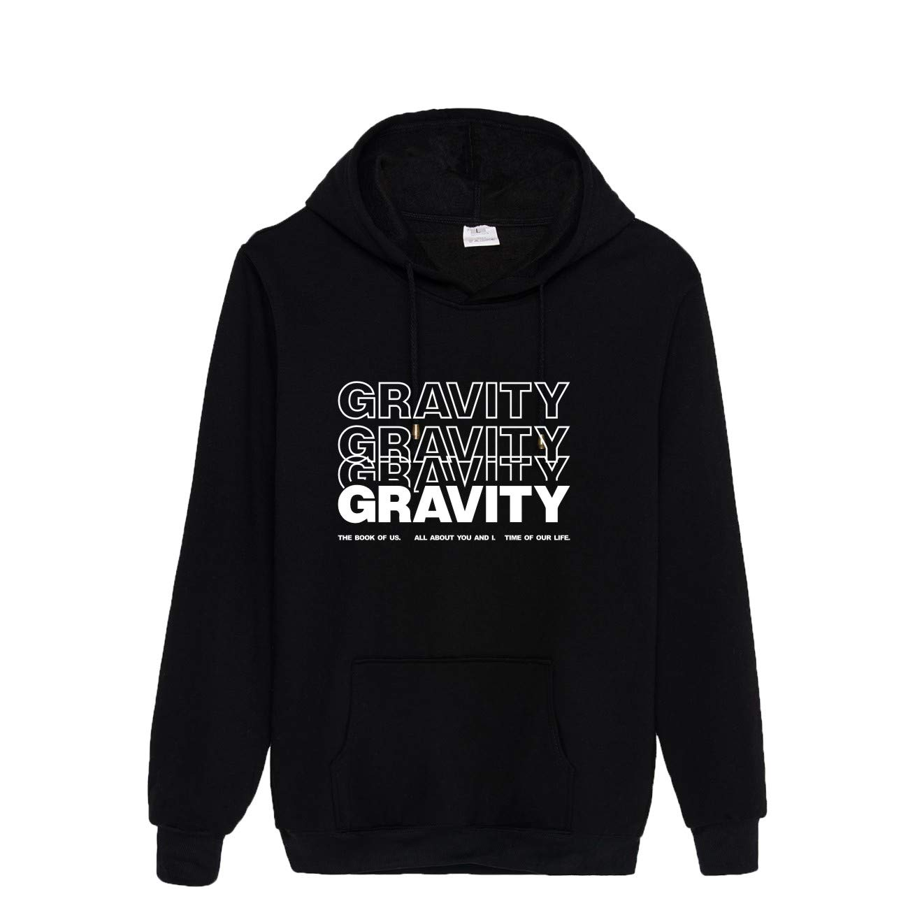 NCTCITY KPOP Day6 Felpe con Cappuccio Sciolto Sweatshirts The Book of Us Gravity Stampate Pullover Maglione a Maniche Lunghe Casuale Tops per Uomini e Donne SUNGJIN JAE Young K WONPIL DOWOON