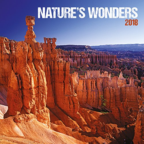 Turner Licensing Photographic Nature's Wonders 2018 Wall Calendar  (18998940038)