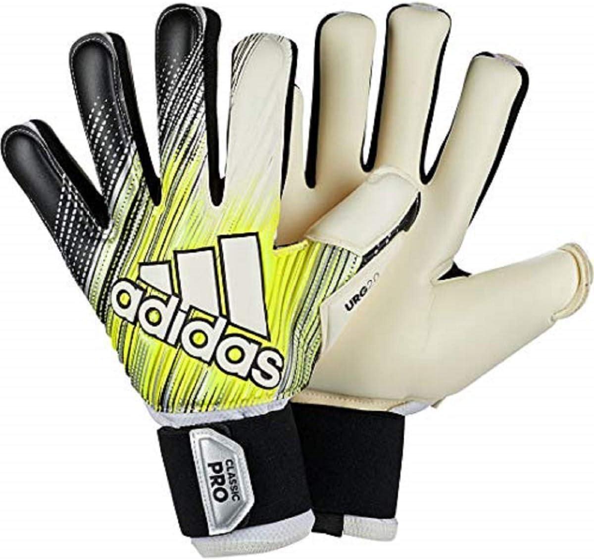 Espectador Reunión Continental  Amazon.com : adidas Classic Pro Goalkeeper Gloves : Sports & Outdoors