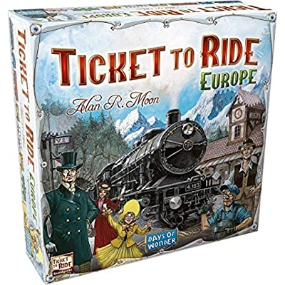 Ticket To Ride - Europe: Game: Toys & Games