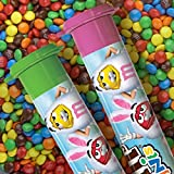 M&MS Easter Milk Chocolate MINIS Size Candy in Tubes 1.77-Ounce Tube 24-Count Box