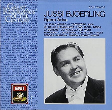 Jussi Bjoerling: Opera Arias Great Recordings of the Centrury by Umberto Giordano (2003-12-05)