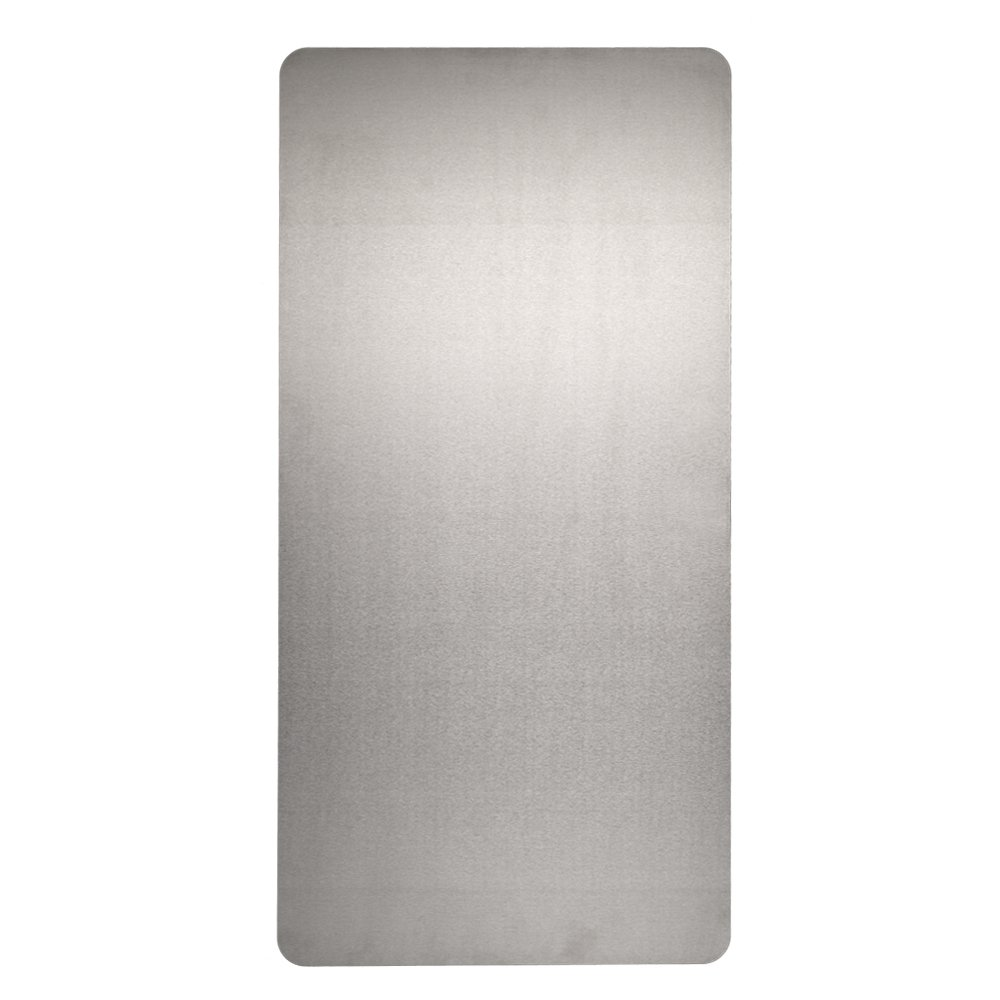 Excel Dryer 89S Stainless Steel XLERATOR Wall Guard for XLERATOR Hand Dryer, 15-3/4'' Width x 31-3/4'' Height x 1/16'' Depth (Pack of 2)