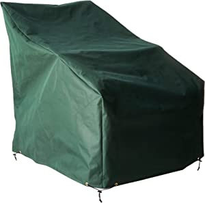 "Bosmere Adirondack Cover 33"" Wide x 41-1/2"" Deep x 43"" High at Back, Green"