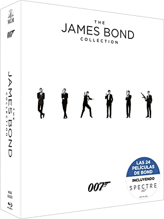 Bond Pack 24 Bd Col.Completa Incluye Spectre Blu-ray: Amazon.es: Sean Connery, George Lazenby, Roger Moore, Timothy Dalton, Pierce Brosnan, Daniel Craig, Terence Young, Peter R. Hunt, Guy Hamilton, Lewis Gilbert, John Glen,