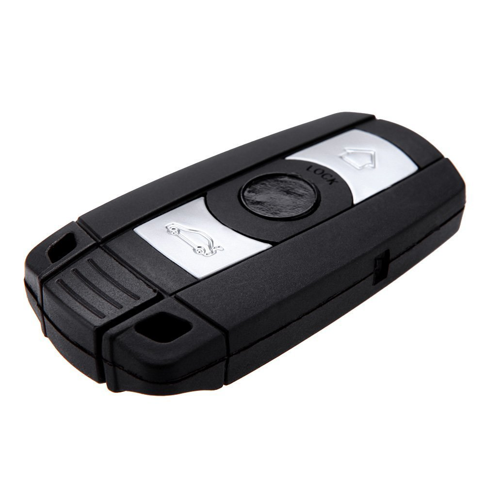 Replacement 3 Button Smart Remote Keyless Key Shell Fob Case for BMW 1 3 5 6 7 E90 E93 E92 M3 M5 X3 X5 R SODIAL