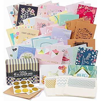 Cortesia All Occasion Premium Greeting Cards Assortment
