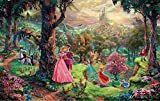Coeus Wooden Puzzles-a Series of Famouse Works- Thomas Kinkade- Prince Charming and Princess,educational Games for Kids / Puzzles for Adults,1500 Pieces Jigsaw Puzzle