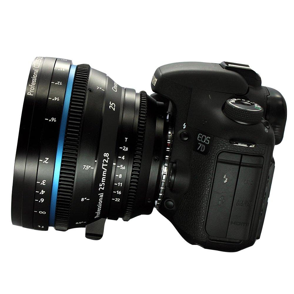 Cinematics V2 de modificación Cine lente Zeiss ZF. 2 25 mm/F2.8 ...